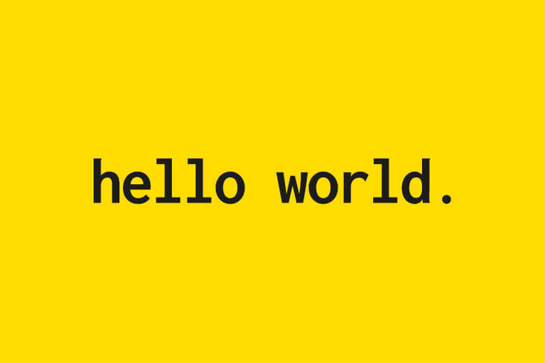 Image for Hello, World!