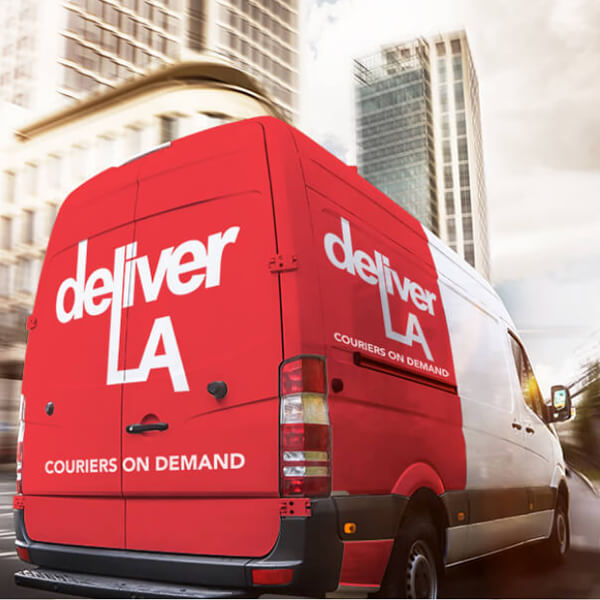 Wordpress website for delivery company in Los Angeles