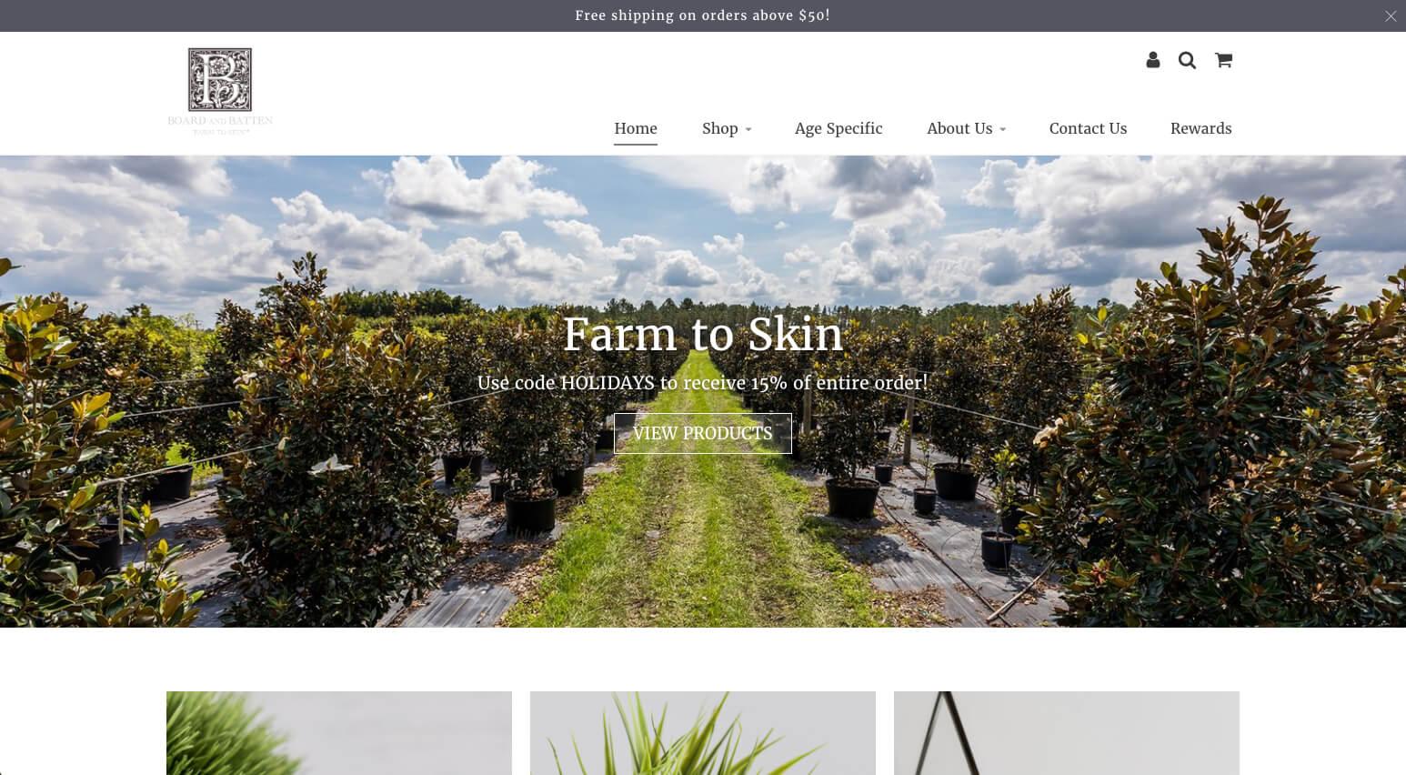 Board and Batten Online Store
