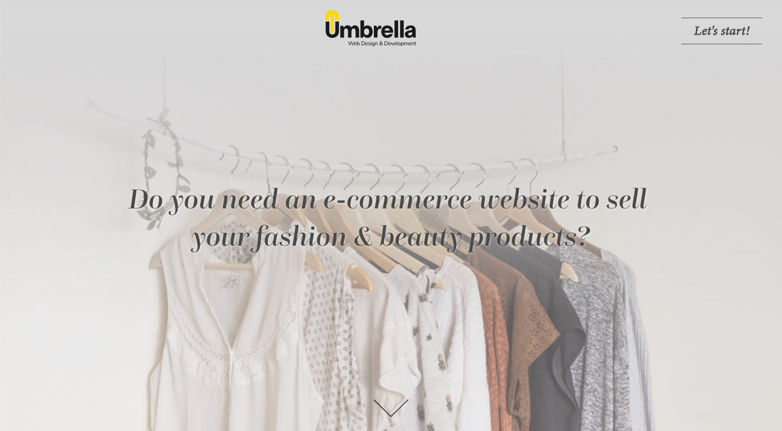 Create your fashion & beauty websites