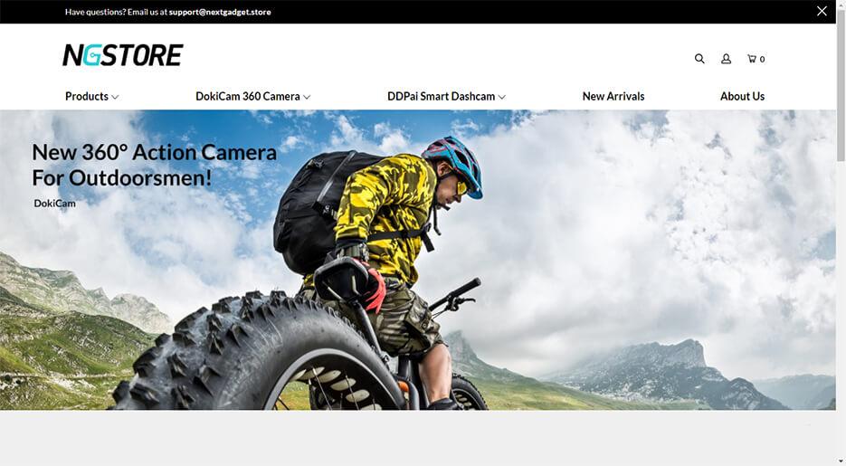 NextGadget Online Store