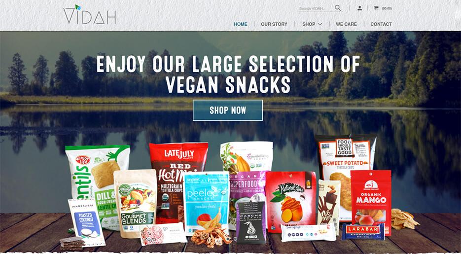 Vidah Online Store
